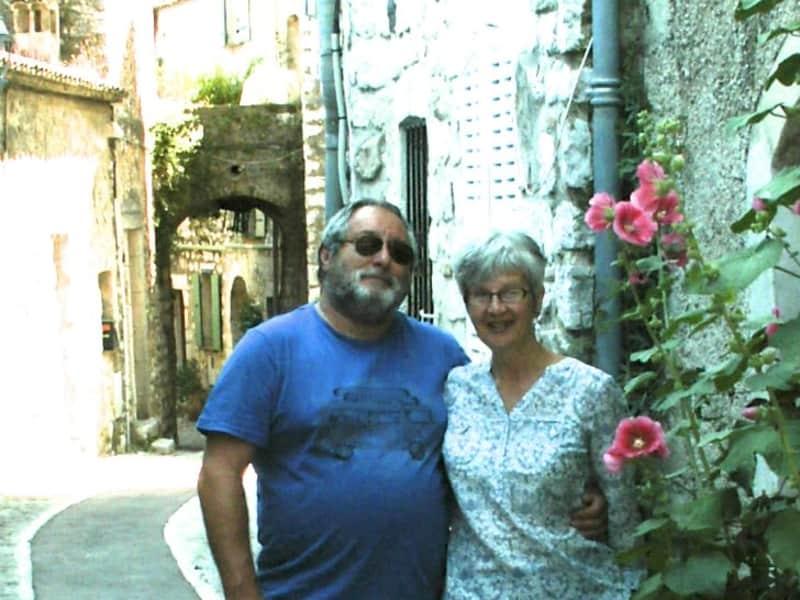 Paula & Alan from St Brelade, Jersey