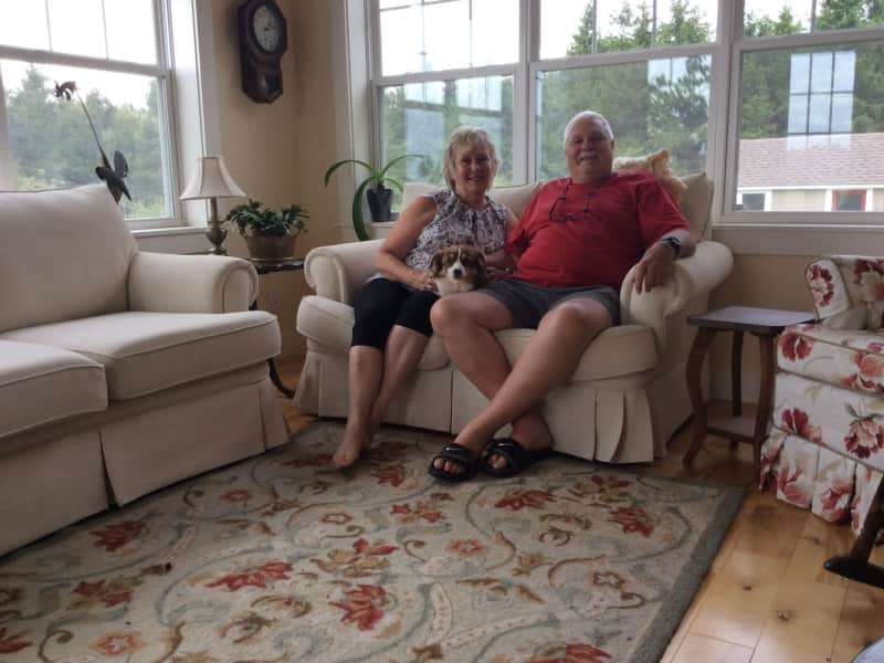 Mary-elizabeth & Gerald from Amherst, Nova Scotia, Canada