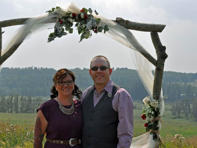 Christina & Mark from Ponoka, Alberta, Canada