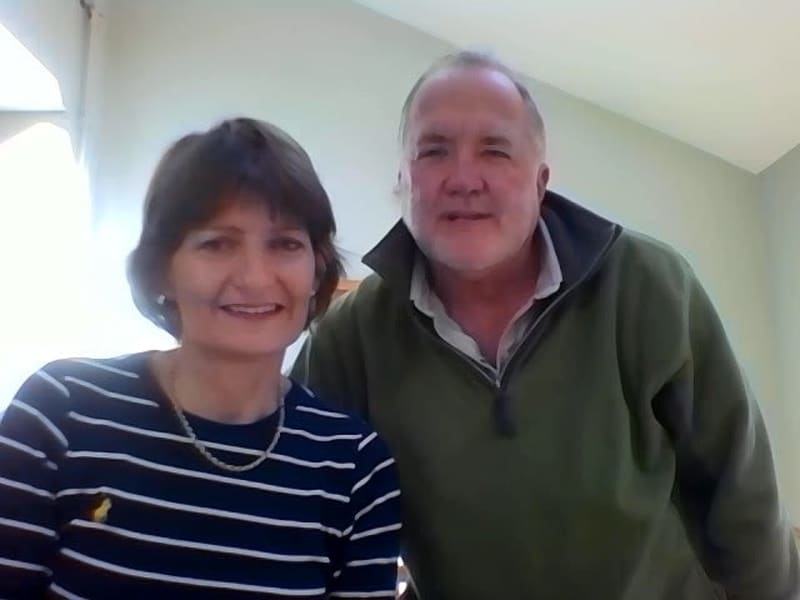 Carolyn & Denham from Frampton Cotterell, United Kingdom