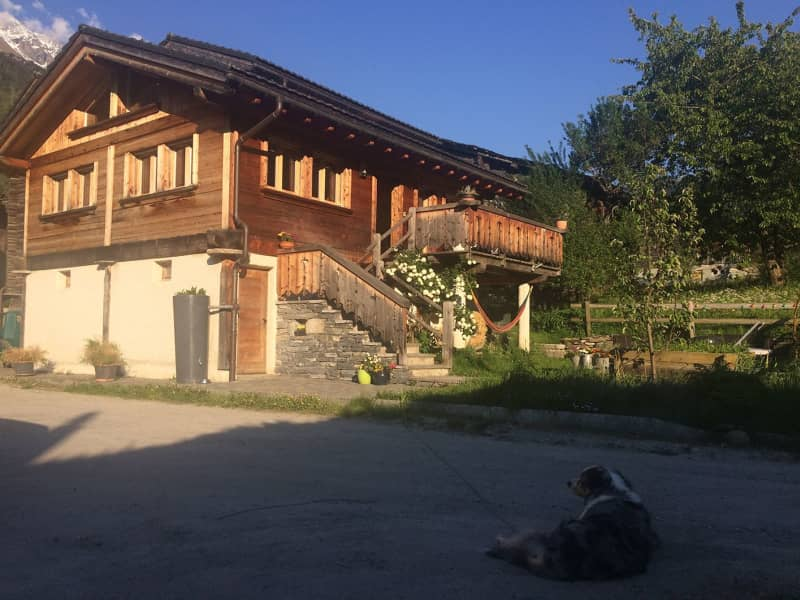Housesitting assignment in Prarreyer, Switzerland