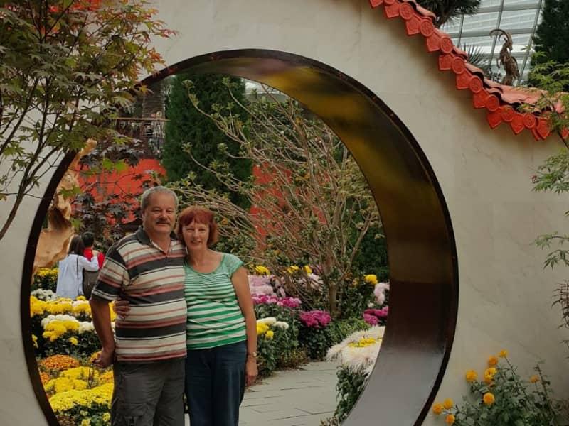 Jan & Charles from Wanganui, New Zealand