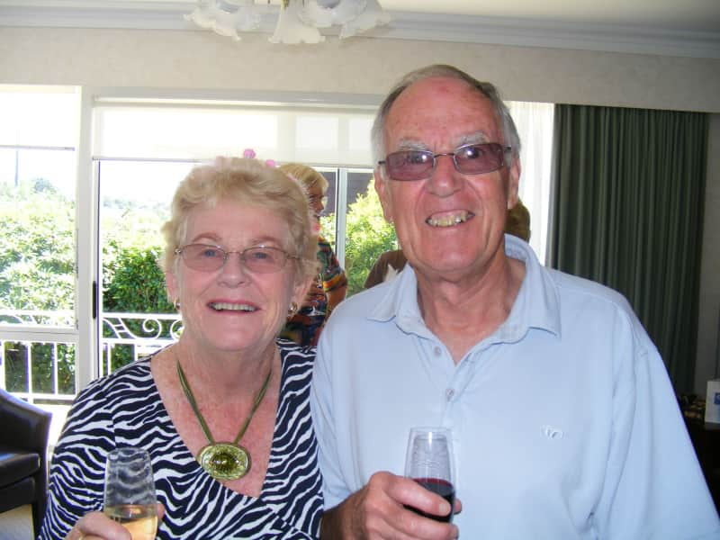 Russell and margaret & Russell from New Plymouth, New Zealand
