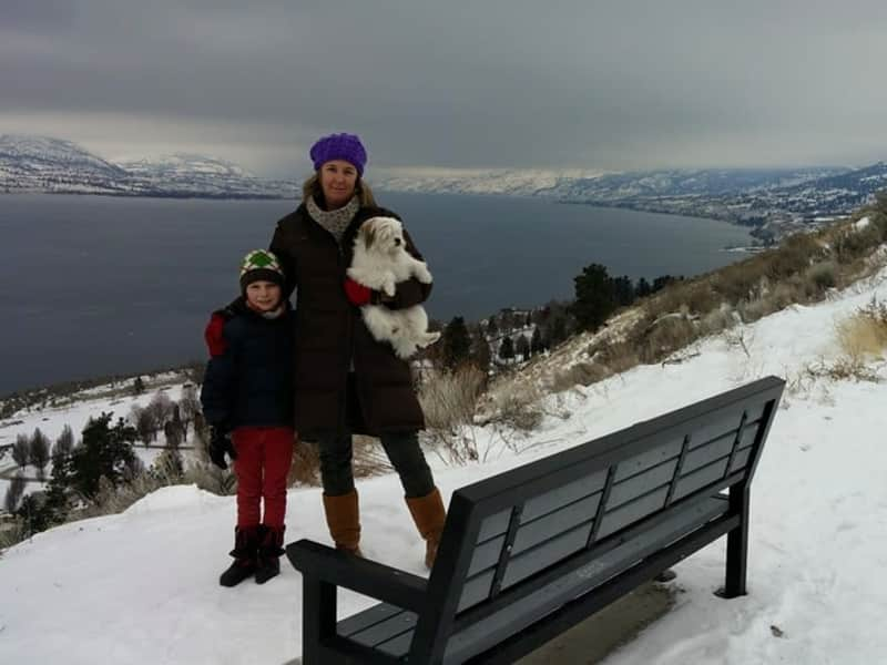 Housesitting assignment in Penticton, British Columbia, Canada