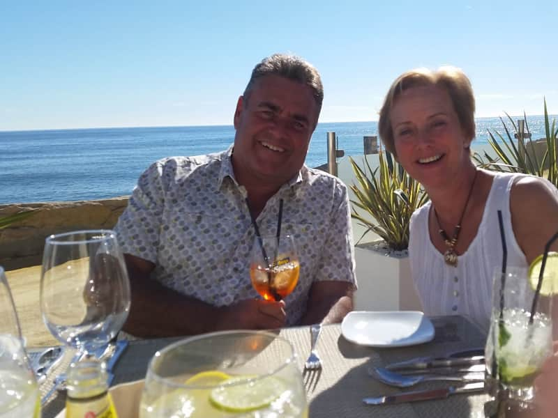 Gillian & Derek from Mijas, Spain