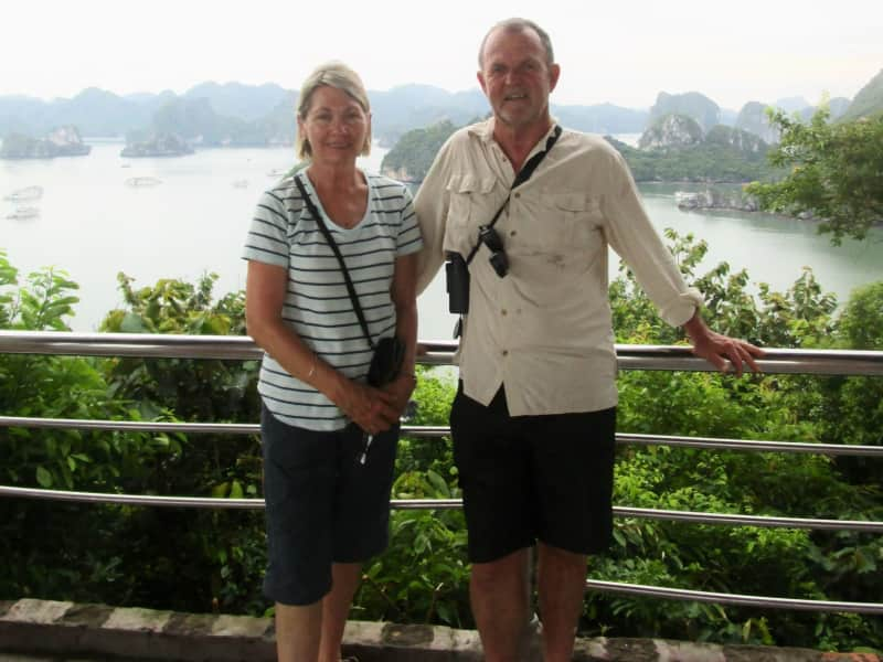 Bob & Lyn from Hong Kong, Hong Kong