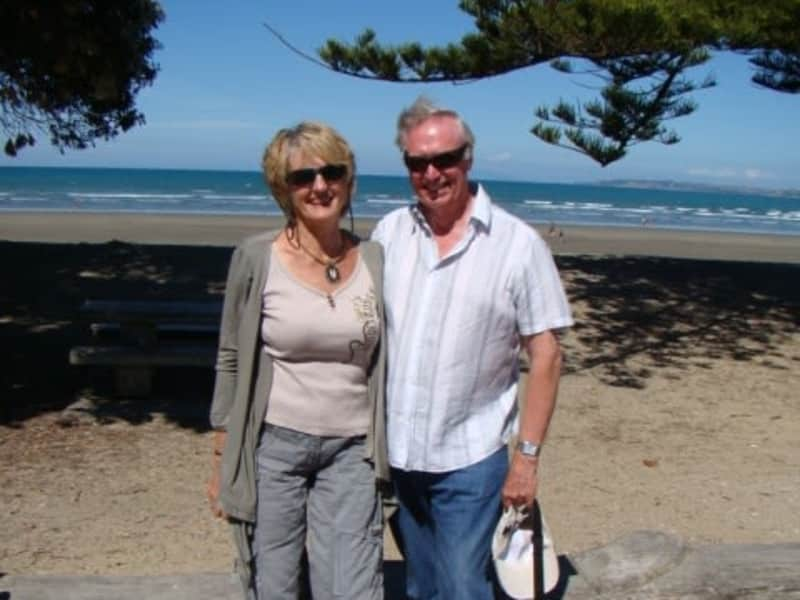 Barbara & Terry from Kerikeri, New Zealand