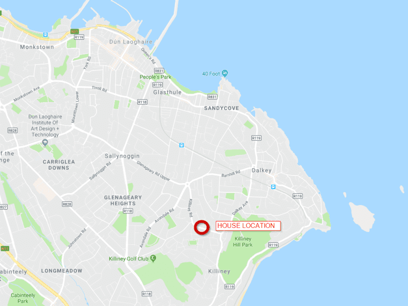 Housesitting assignment in Dalkey, Ireland