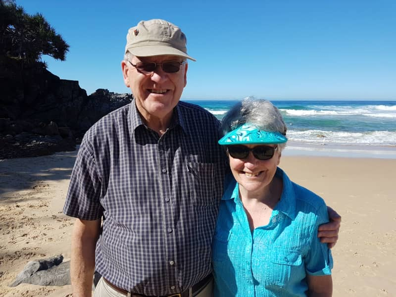 Grant & Lynne from Geelong, Victoria, Australia