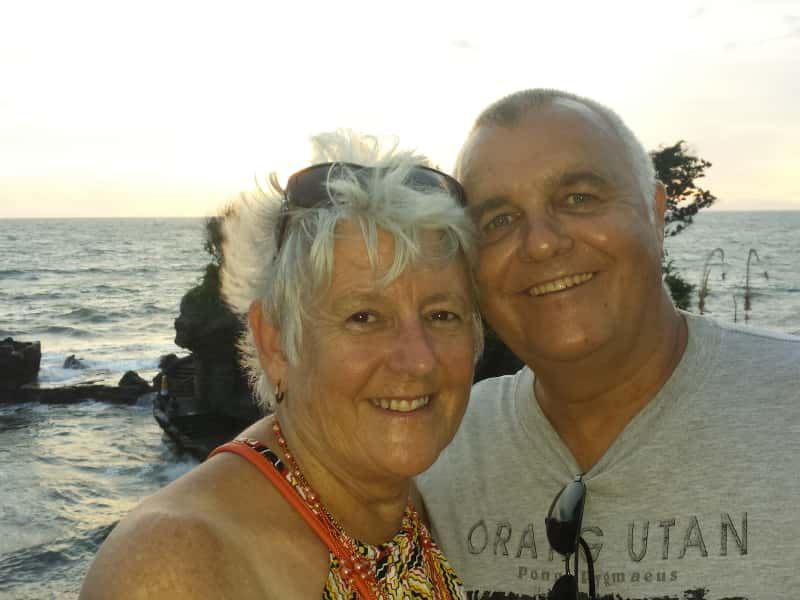 Paul & Sandra from East Brisbane, Queensland, Australia