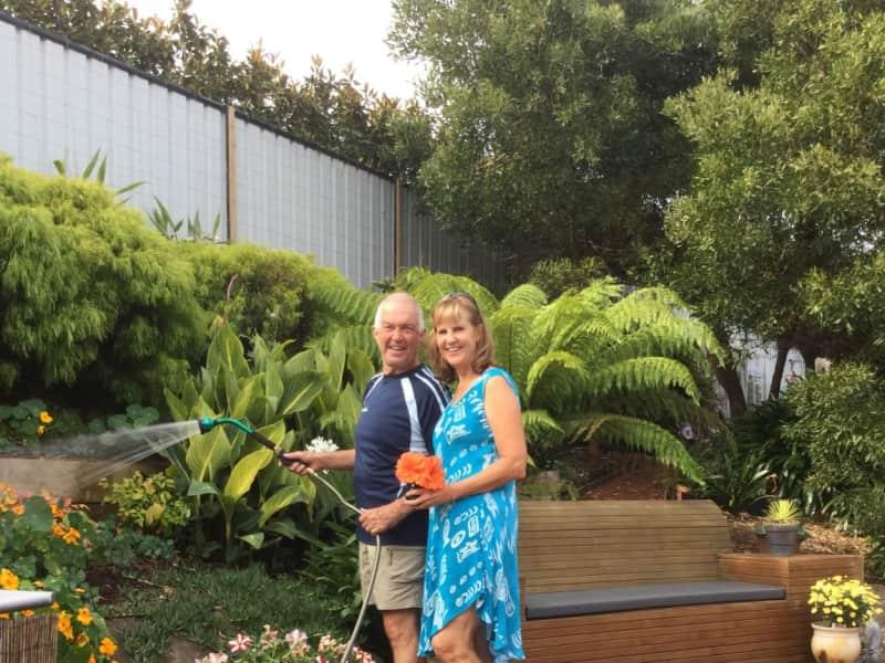Colin & Lorraine from Shearwater, Tasmania, Australia