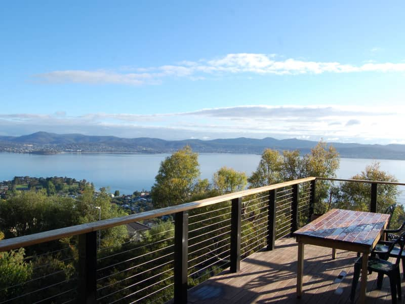 Housesitting assignment in Sandy Bay, Tasmania, Australia