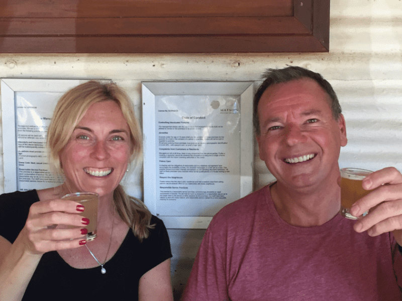 Ingrid & Peter from Bowral, New South Wales, Australia
