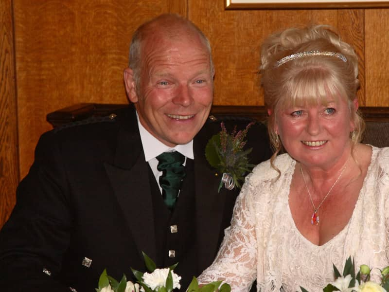 Val and martin & Martin from Kirkcudbright, United Kingdom