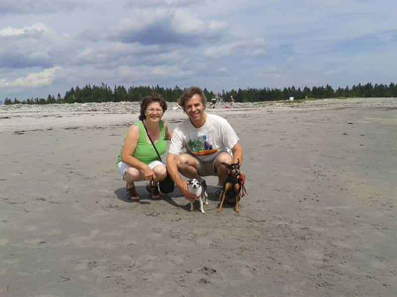 Max & Gisele from Bridgewater, Nova Scotia, Canada