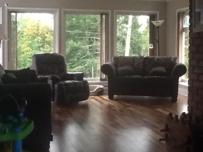 Housesitting assignment in Lake Cowichan, British Columbia, Canada