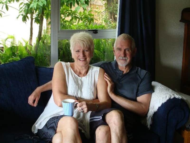 Robyn & Tony from Napier, New Zealand