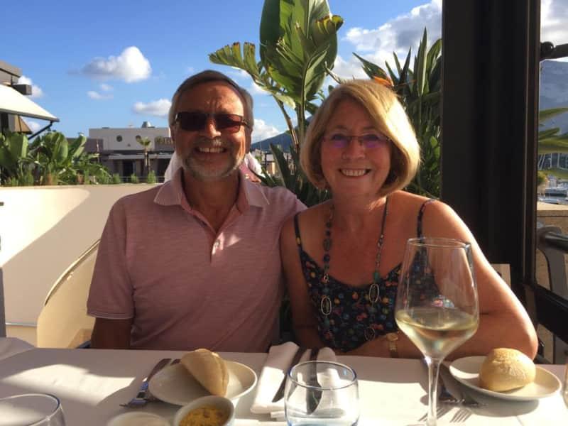 Marjorie & Steve from Camberley, United Kingdom