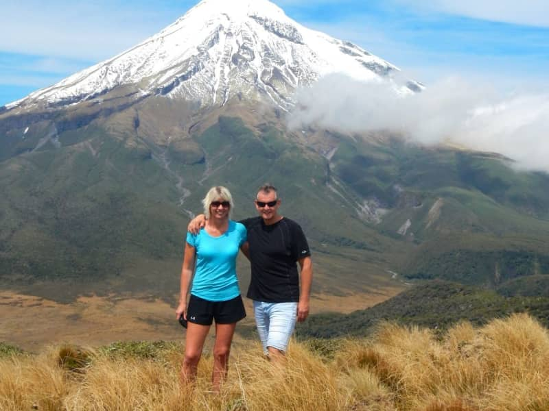Keren & Greg from New Plymouth, New Zealand