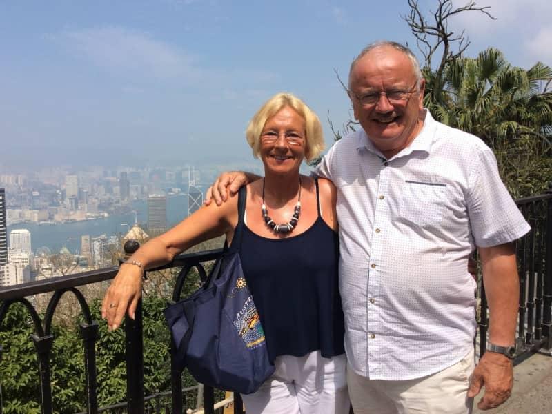 Maureen & Ronnie from Crieff, United Kingdom