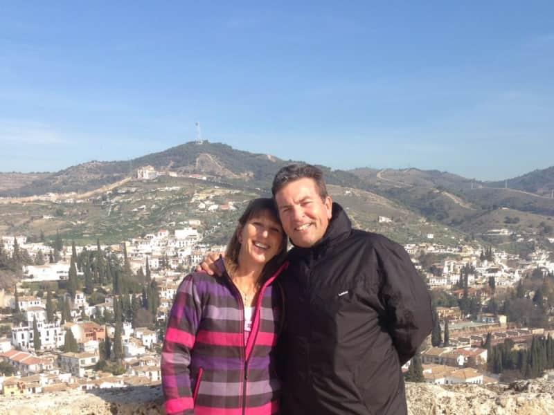 Jean & Mark from San Miguel de Salinas, Spain