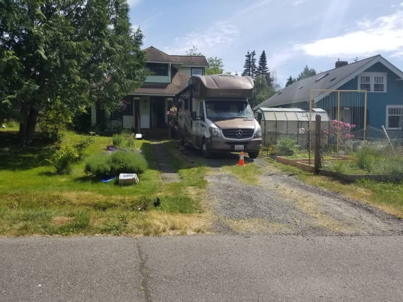 Housesitting assignment in Bellingham, Washington, United States