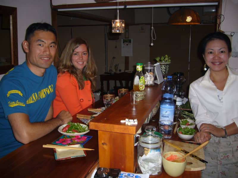 Tieneke & Ken from Niigata-shi, Japan