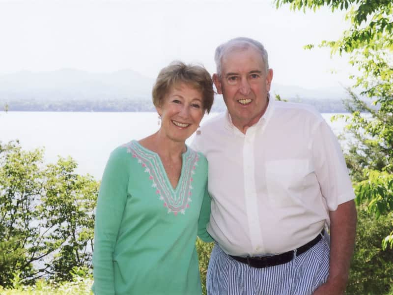Paulette & Joe from Panton, Vermont, United States