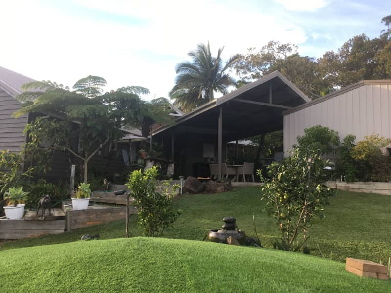 Housesitting assignment in Myocum, New South Wales, Australia