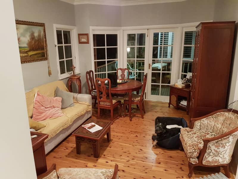 Housesitting assignment in Lane Cove, New South Wales, Australia