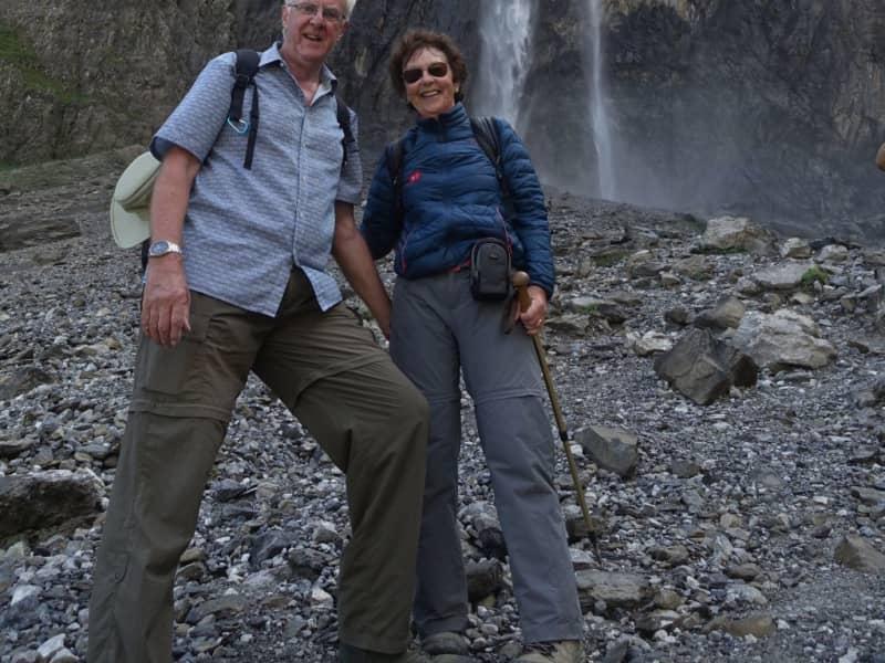 Daphne & Darrell from Tormos, Spain