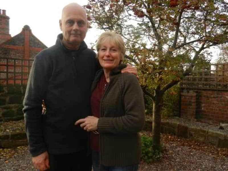 Danny & Christine from Wallasey, United Kingdom