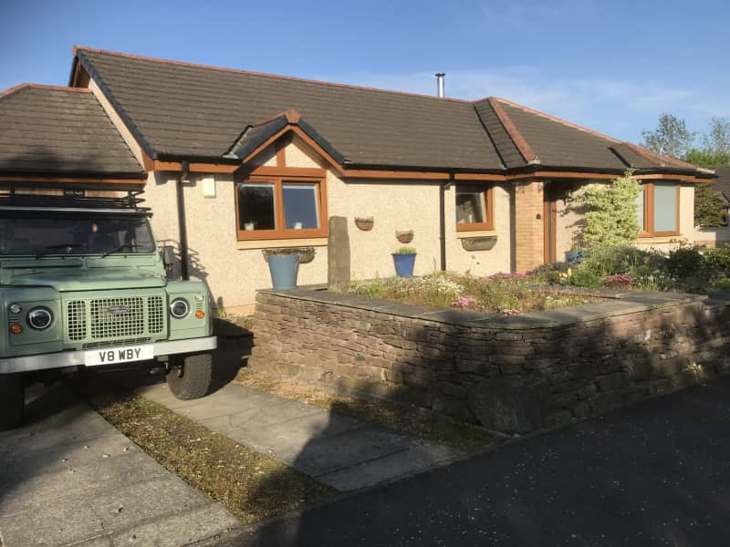 Housesitting assignment in Comrie, United Kingdom