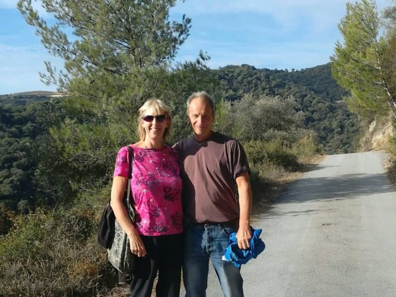 May & Simon from Carmarthen, United Kingdom