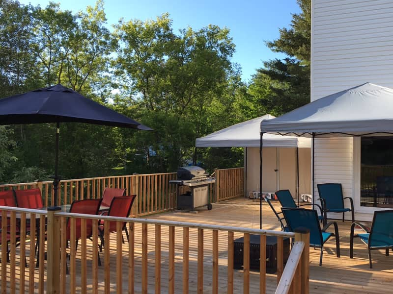Housesitting assignment in Cantley, Quebec, Canada