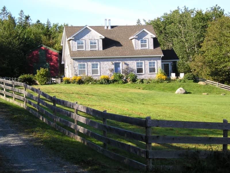 Housesitting assignment in Lower Rose Bay, Nova Scotia, Canada
