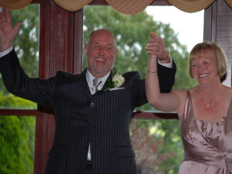 Rose-marie & John from Longridge, United Kingdom