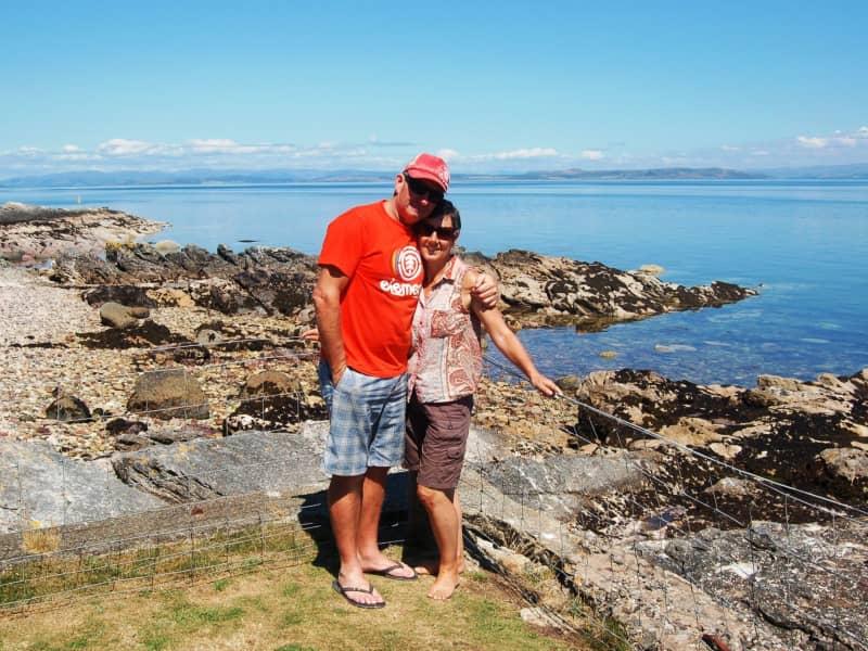 Helen & Ron from St Helens, Tasmania, Australia