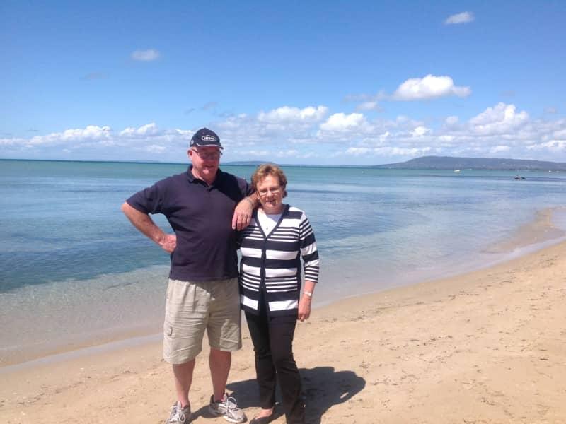 Ross & Jeannene from Gardenvale, Victoria, Australia