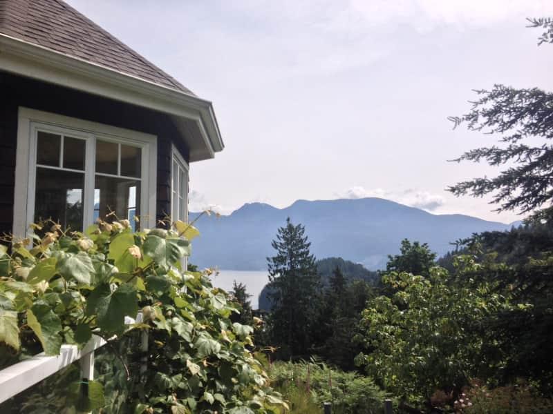Housesitting assignment in Bowen Island, British Columbia, Canada
