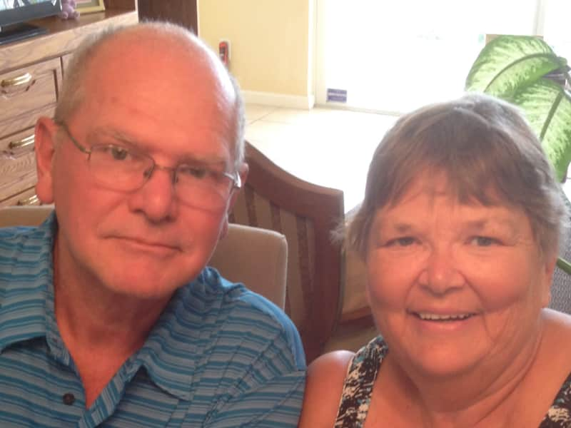 Marianne and gordon & Gordon from Sarnia, Ontario, Canada