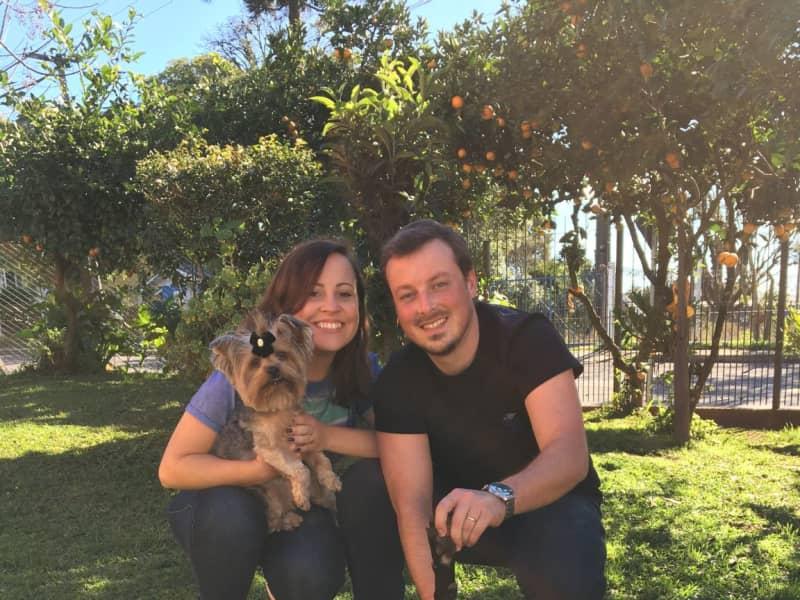 Mariana & Douglas from Canoas, Brazil