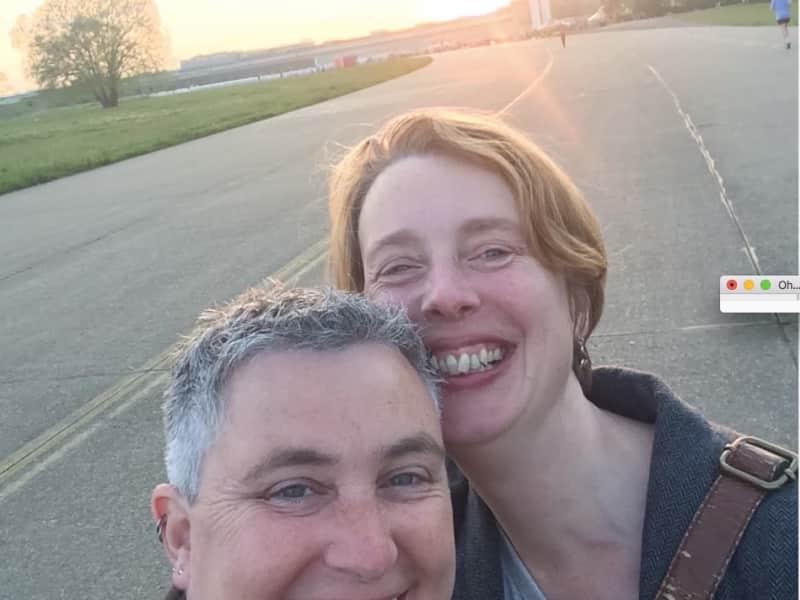 Emily & Mel from Salisbury, United Kingdom