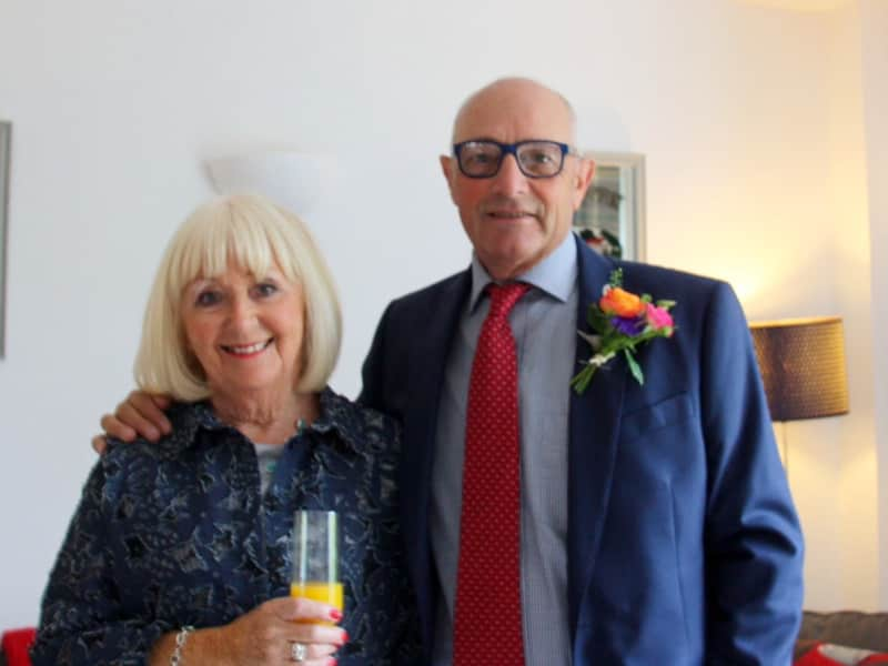 Norman & Sandy from Royal Leamington Spa, United Kingdom