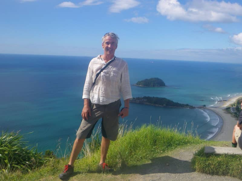 Paul from Coromandel, New Zealand