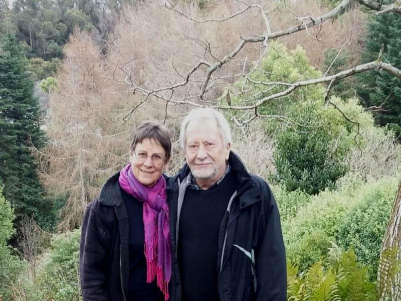 Meg & Rob from Dunedin, New Zealand