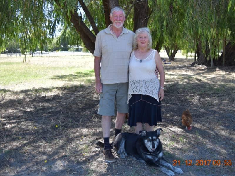 Louise & Graeme from Baldivis, Western Australia, Australia