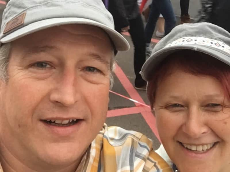 Jackie & Mark from Hambledon, United Kingdom