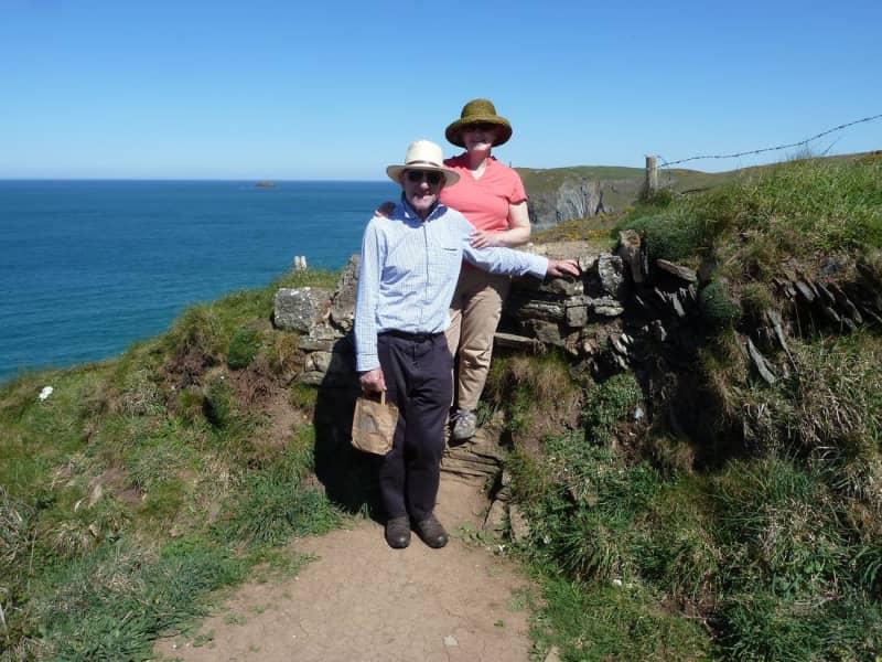 Nancy & Peter from Battle, United Kingdom