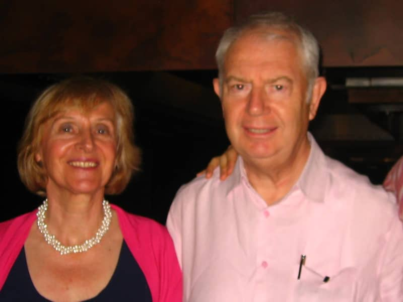 Mairead (margaret) & Alan porter from Forest Row, United Kingdom
